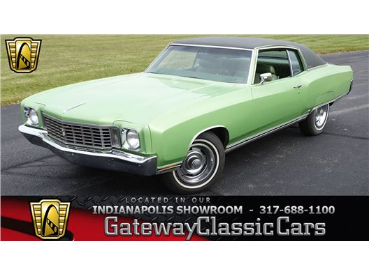 1972 Chevrolet Monte Carlo for sale in Indianapolis, Indiana 46268