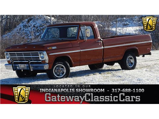1969 Ford F100 for sale in Indianapolis, Indiana 46268