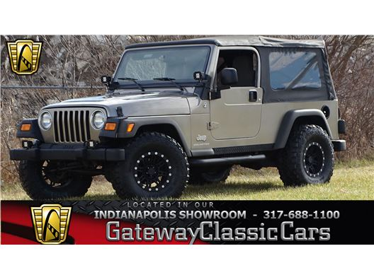 2006 Jeep Wrangler for sale in Indianapolis, Indiana 46268