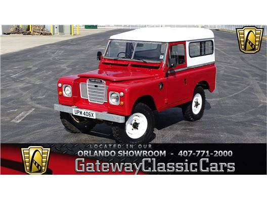 1982 Land Rover Series III for sale in Lake Mary, Florida 32746