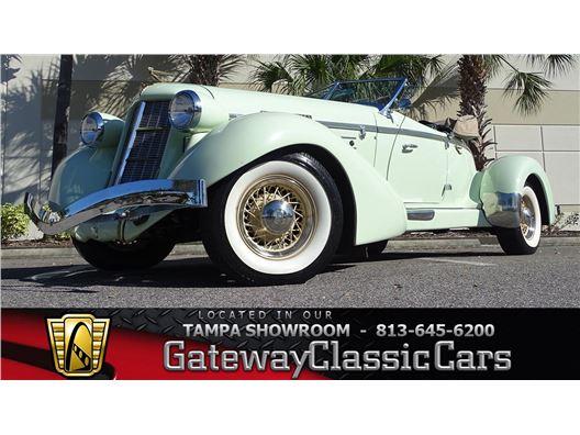 1935 Auburn Speedster for sale in Ruskin, Florida 33570