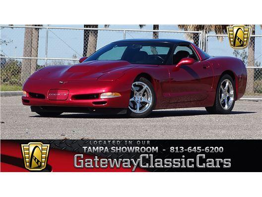 2002 Chevrolet Corvette for sale in Ruskin, Florida 33570