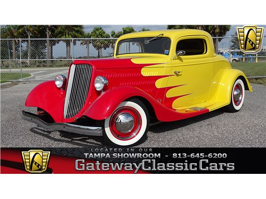 1934 Ford 3 Window for sale in Ruskin, Florida 33570