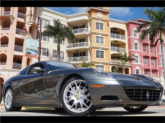 2006 Ferrari 612 Scaglietti F1 for sale in Naples, Florida 34104