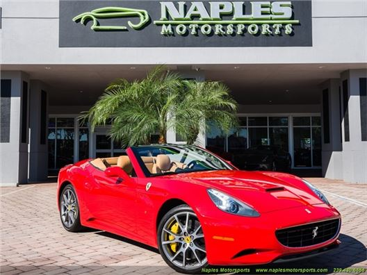 2011 Ferrari California for sale in Naples, Florida 34104