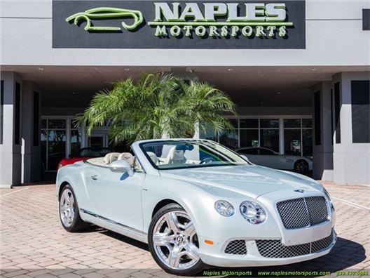 2013 Bentley Continental GT GTC Mulliner for sale in Naples, Florida 34104