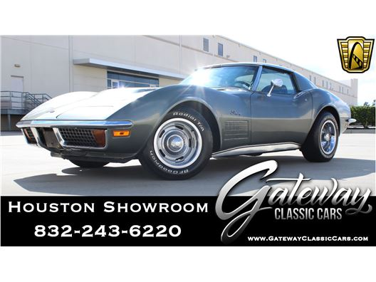 1972 Chevrolet Corvette for sale in Houston, Texas 77090