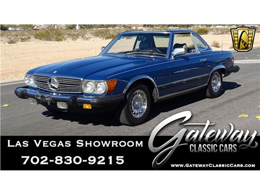 1983 Mercedes-Benz 380SL for sale in Las Vegas, Nevada 89118