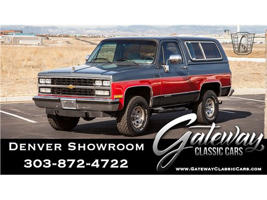 1990 Chevrolet Blazer for sale in Englewood, Colorado 80112