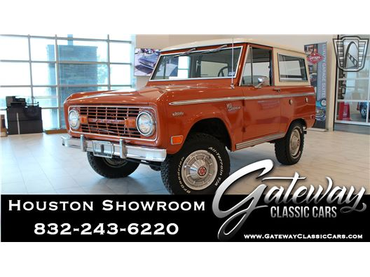 1969 Ford Bronco for sale in Houston, Texas 77090