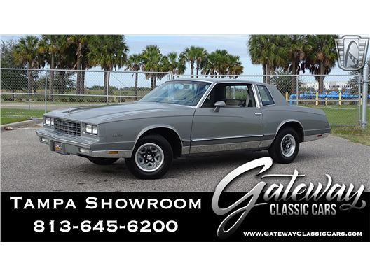 1983 Chevrolet Monte Carlo for sale in Ruskin, Florida 33570