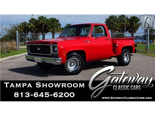 1978 Chevrolet Scottsdale for sale in Ruskin, Florida 33570