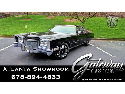 1972 Cadillac Eldorado for sale in Alpharetta, Georgia 30005
