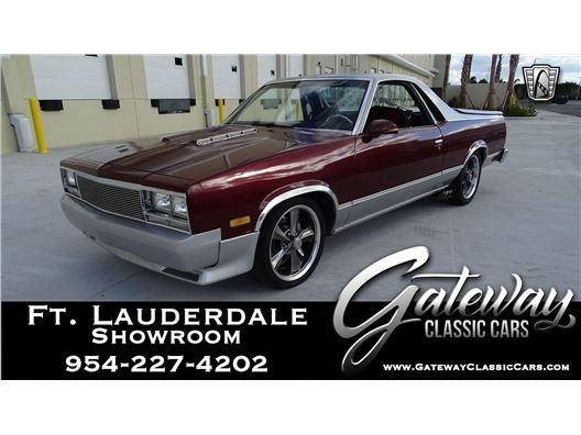 1987 Chevrolet El Camino for sale in Coral Springs, Florida 33065