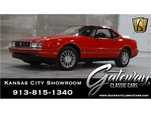 1989 Cadillac Allante for sale in Olathe, Kansas 66061