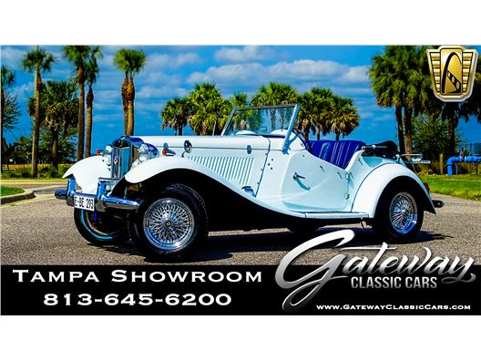 1952 MG TD for sale in Ruskin, Florida 33570