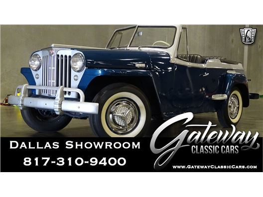 1948 Willys Jeepster for sale in DFW Airport, Texas 76051
