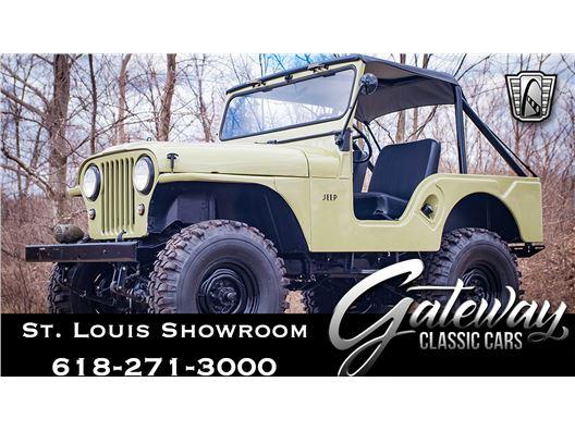 1960 Jeep CJ5 for sale in OFallon, Illinois 62269