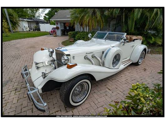 1981 Excalibur Series IV Phaeton for sale in Sarasota, Florida 34232