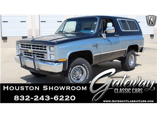 1986 Chevrolet K10 for sale in Houston, Texas 77090