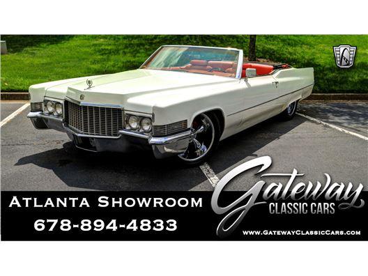 1970 Cadillac DeVille for sale in Alpharetta, Georgia 30005