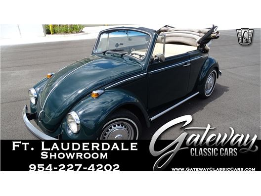 1978 Volkswagen Beetle for sale in Coral Springs, Florida 33065