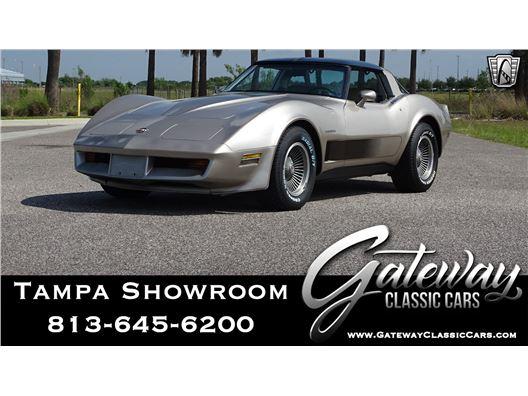 1982 Chevrolet Corvette for sale in Ruskin, Florida 33570