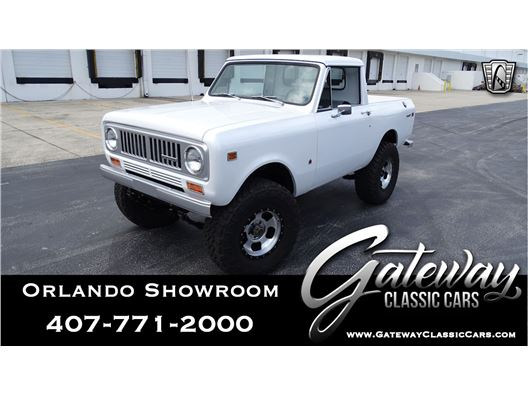 1974 International Harvester Scout for sale in Lake Mary, Florida 32746