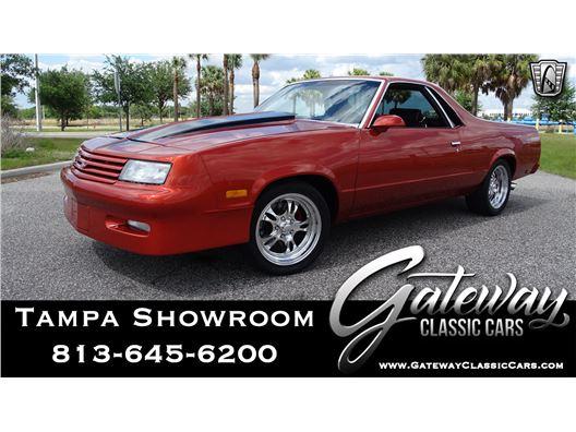 1986 Chevrolet El Camino for sale in Ruskin, Florida 33570