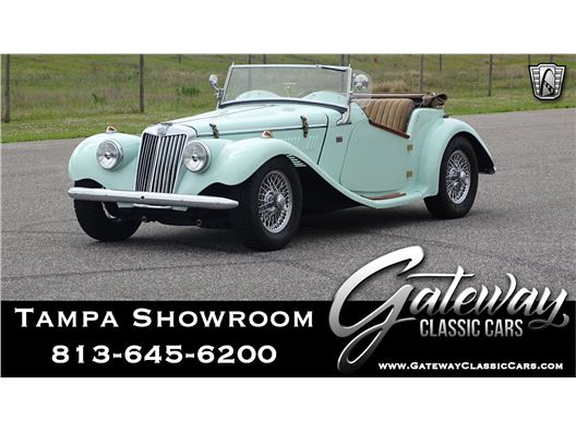 1954 MG TF for sale in Ruskin, Florida 33570