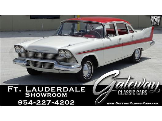 1958 Plymouth Savoy for sale in Coral Springs, Florida 33065
