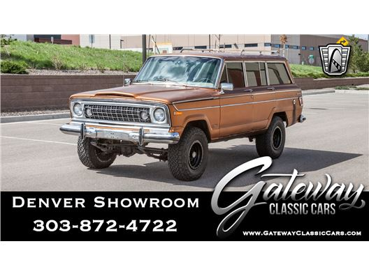 1978 Jeep Wagoneer for sale in Englewood, Colorado 80112