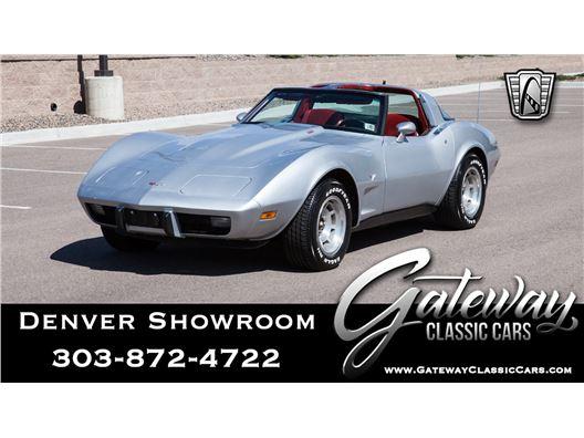 1979 Chevrolet Corvette for sale in Englewood, Colorado 80112