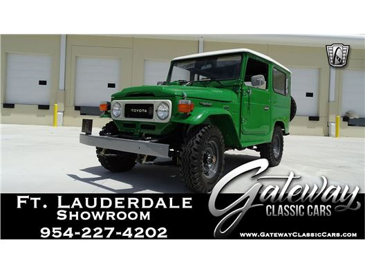 1980 Toyota Land Cruiser for sale in Coral Springs, Florida 33065
