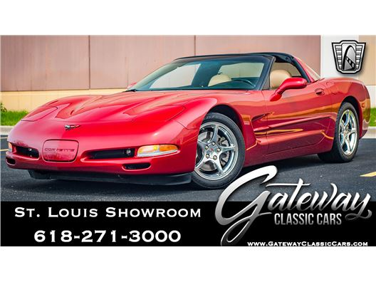 2002 Chevrolet Corvette for sale in OFallon, Illinois 62269