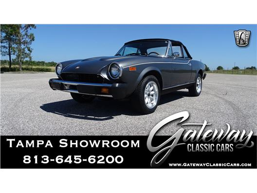 1979 Fiat Spyder 2000 for sale in Ruskin, Florida 33570
