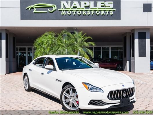 2019 Maserati Quattroporte S for sale in Naples, Florida 34104
