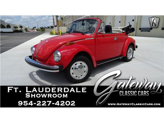 1975 Volkswagen Beetle for sale in Coral Springs, Florida 33065