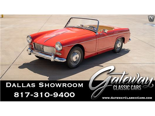 1961 MG Midget for sale in DFW Airport, Texas 76051