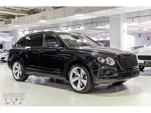 2017 Bentley Bentayga for sale in New York, New York 10019