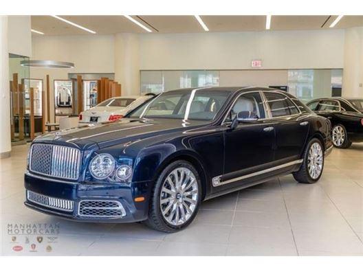 2017 Bentley Mulsanne for sale on GoCars.org