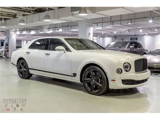2016 Bentley Mulsanne for sale in New York, New York 10019