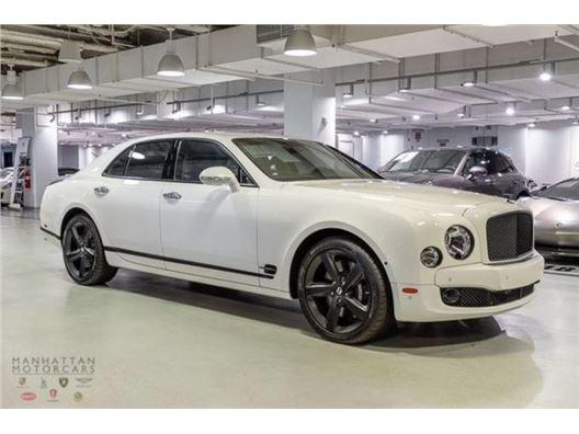 2016 Bentley Mulsanne for sale on GoCars.org