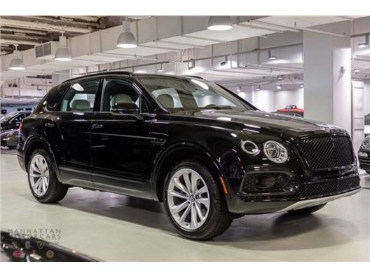 2019 Bentley Bentayga for sale in New York, New York 10019