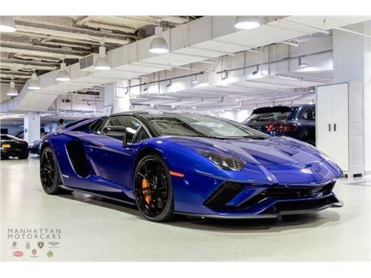 2019 Lamborghini Aventador for sale in New York, New York 10019