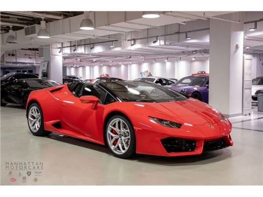 2019 Lamborghini Huracan 580-2 for sale in New York, New York 10019