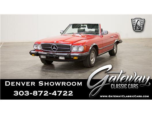 1981 Mercedes-Benz 380SL for sale in Englewood, Colorado 80112