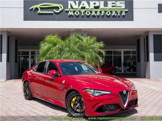 2017 Alfa Romeo Giulia Quadrifoglio for sale in Naples, Florida 34104
