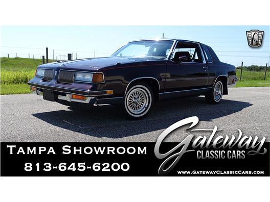 1987 Oldsmobile Cutlass for sale in Ruskin, Florida 33570