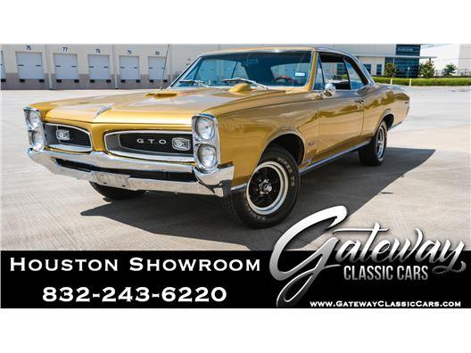 1966 Pontiac GTO for sale in Houston, Texas 77090
